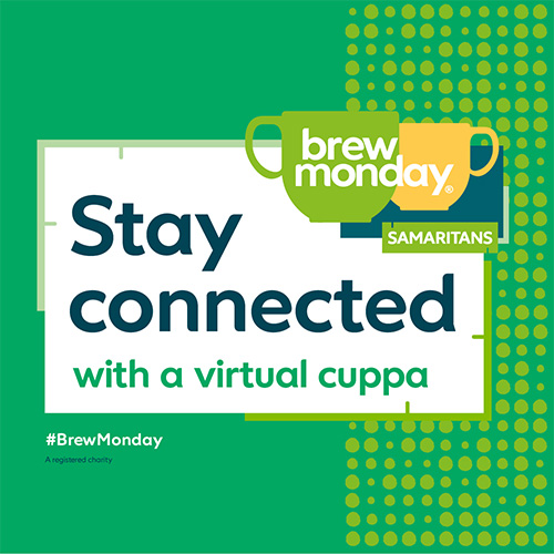 Brew Monday stay connected with a virtual cuppa.