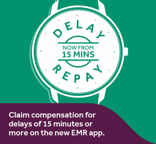 Delay Repay - now from 15 minutes