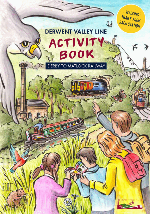 Derwent Valley Line Activity Book cover