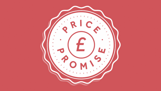 Price promise banner home